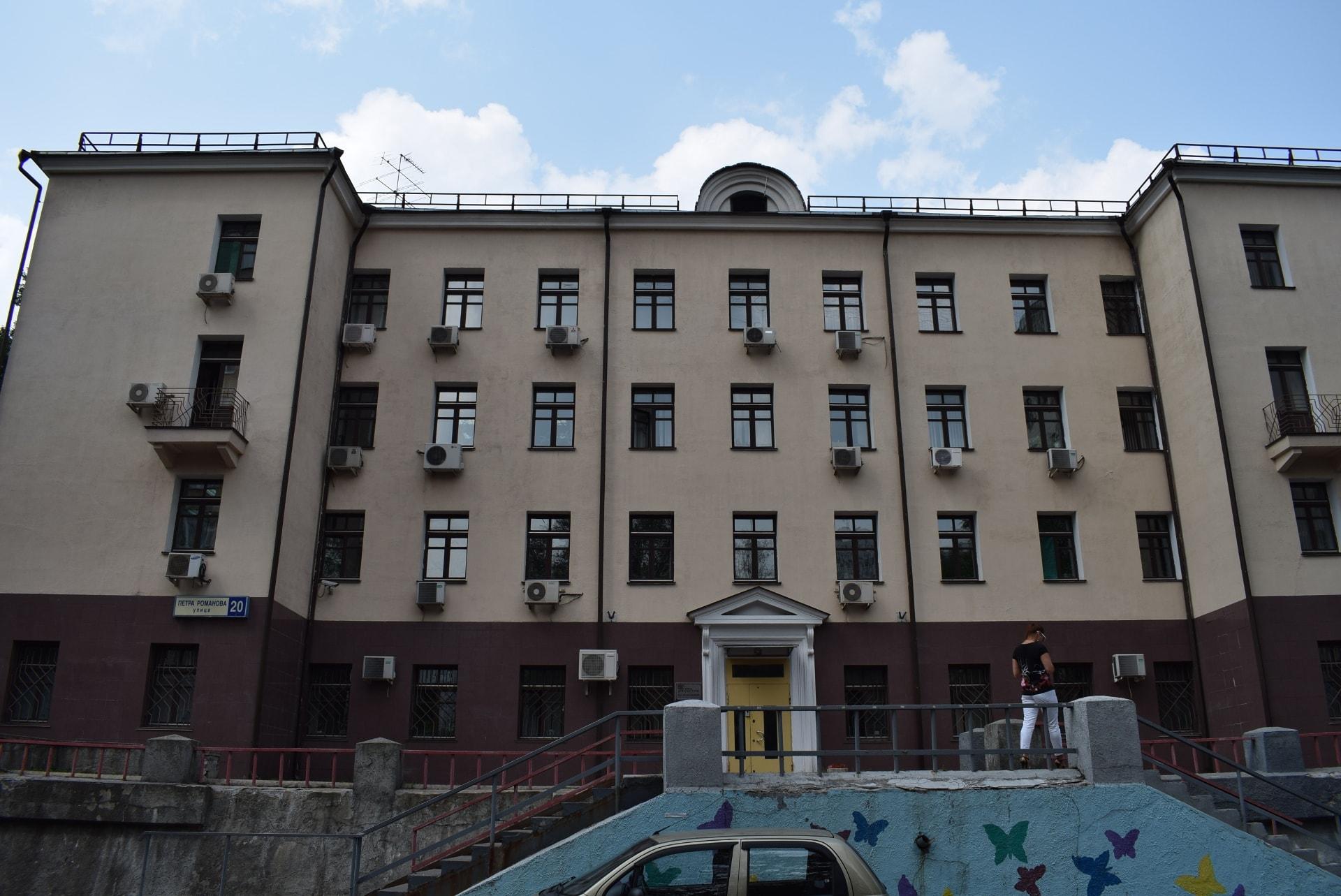 Здание в ЮВАО